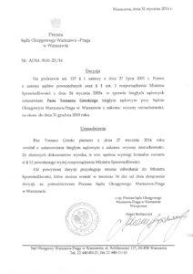 Decyzja-Prezes-Sądu-Warszawa-Praga-Uprawnienia-Rzeczoznawcy-Tomasz-Górski